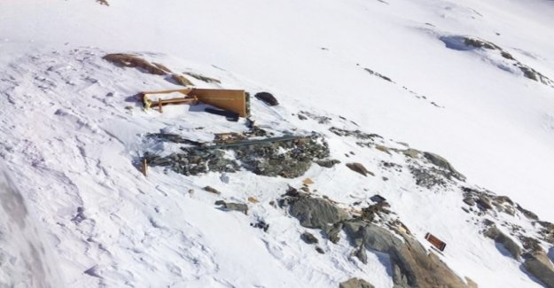 Avalanche sweeps away SAC bivouac in the Aletsch region