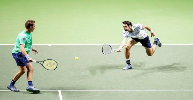 Awesome performance! Kontinen and Chardy won the ATP tournament in Rotterdam