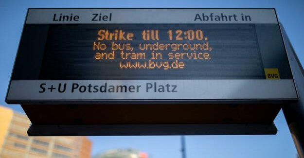 BVG-warning strike : buses and trains rolling for point 12 o'clock again