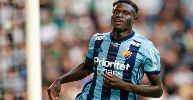 Badji leaves Djurgården: Fantastic deal