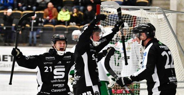 Bajen fell in Sandviken can still decide on Zinken