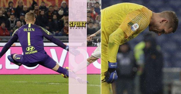 Bang: Robin Olsen injured – will miss the league match