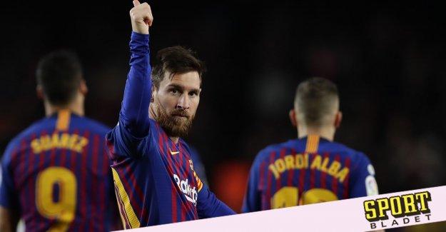 Barcelona's desire: To write livstidsavtal with Lionel Messi