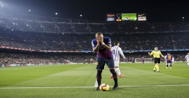 Barcelona's players waited for the shock of surprise after the game - the thieves took 300 000 euros worth of valuables and cash