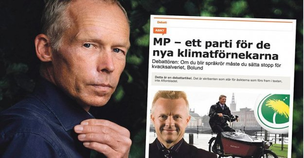 Baseless claims about me, Stefan fölster's