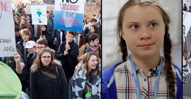 Be sure to 11,000 klimaatspijbelaars on the leg in Brussels, famous activist Greta Thunberg (16) argues in next week