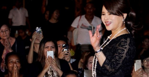 Before the parliamentary elections: the sister of the King of Thailand on mixes