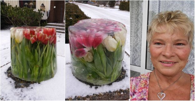 Berit's tricks – to keep the flowers fresh in the winter cold