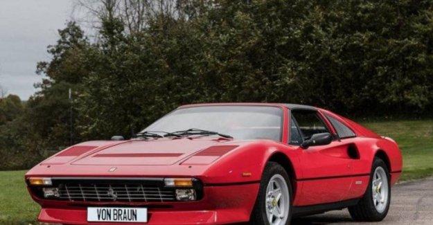 Björn Borg's classic sports car set for sale