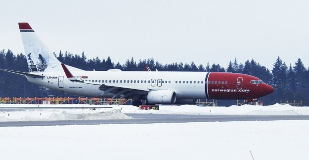 Bomb threat against Norwegian aircraft in the air