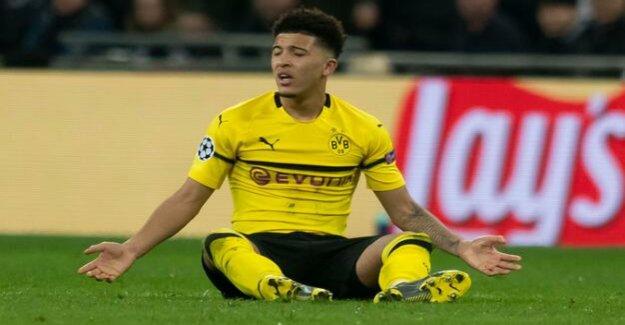 Borussia Dortmund under pressure : collapse in the second half