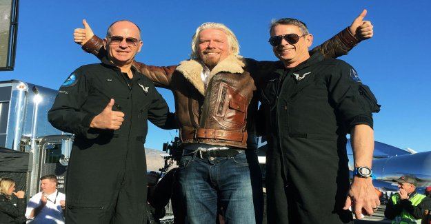 Branson is aiming for a summer in space