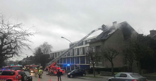 Bright dakbrand requires two fatalities in Dilbeek