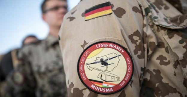 Bundeswehr fired in Mali, apparently accidentally