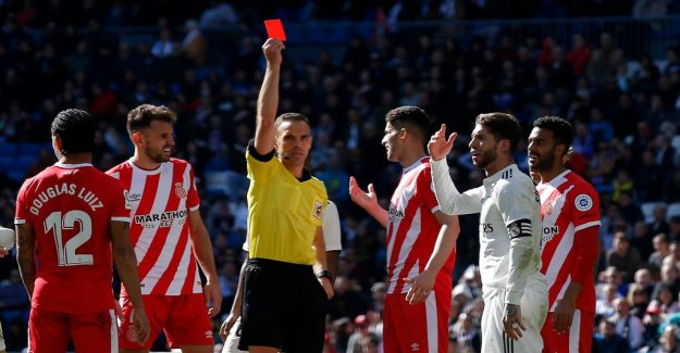 Busen Ramos saw red – for the 25th time