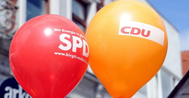 Capital position : the SPD benefited from advances in the Reform of the welfare state