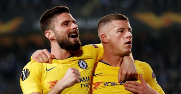Chelsea struck back - was too strong for Malmo
