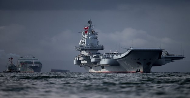 China now has more ships of war than the USA