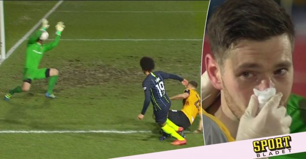 City on in the FA cup after the goalkeeper's hilarious mistake