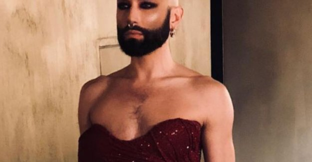 Conchita Wurst surprised fans with a bald head