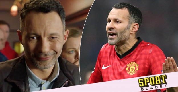 Confronting Ryan Giggs after the scandal – in commercials