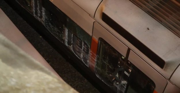 Continued disruptions in train services following collision