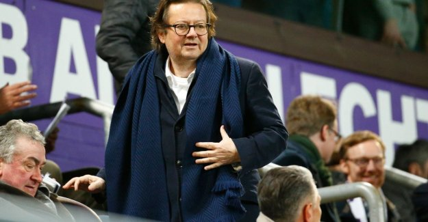 Coucke has no regrets of acquisition, but: If you're at Anderlecht in the nose picks, is that national news
