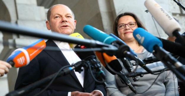 Criticism of Gabriel : Scholz supported Nahles' Plan for welfare state reform