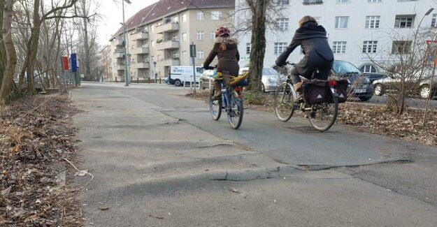 Cycling in Berlin : Between the roots and crush SUVs