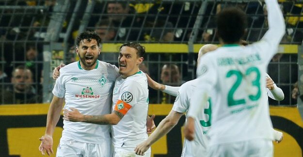 DFB-Cup : After two residues: Bremen throws Dortmund out