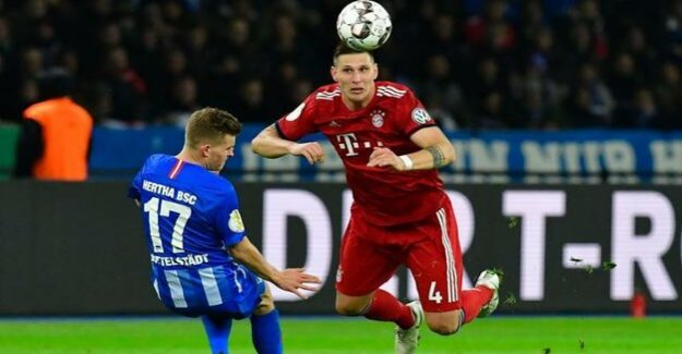 DFB-Pokal: 2:3 against FC Bayern : The dream of Hertha BSC remains unfulfilled