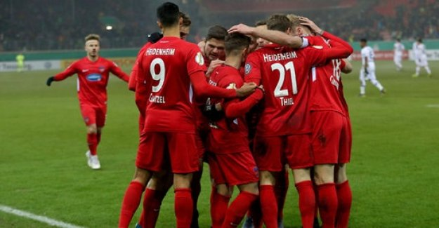 DFB-Pokal-second round: Heidenheim throws Leverkusen out