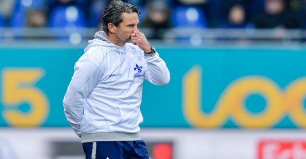 Darmstadt dismisses coach Dirk Schuster