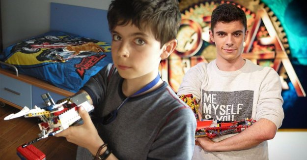 David (19) was born without a forearm, and then builds but their own prosthetics... out of Lego