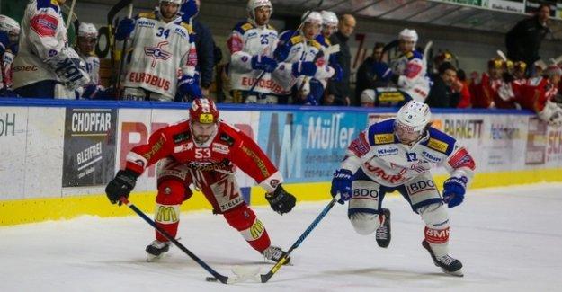 Despite the victory Kloten has to start in the playoffs away