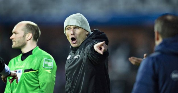 Despite the win: Stale Solbakken is irritated