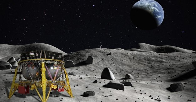 Destination moon: soon leave the first private lunar module earth