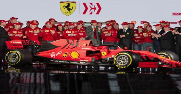 Did you notice this? Ferrari's new F1 car got to the historical coloration - the Reason is not aesthetic