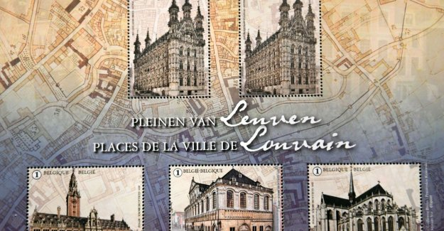 'Dime' in new postzegelcollectie about Leuven put bad blood to philatelists