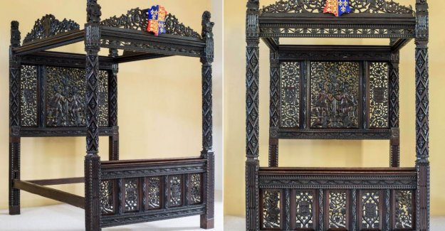 Discarded hotelbed turns out 15th century marriage bed of King Henry VII of England to be