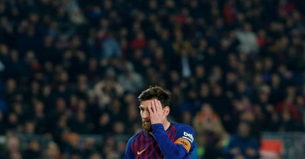 Do it again: Messi is both hero and villain