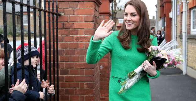 Do you see it? Kate Middleton laughed at kwaadste dress ever
