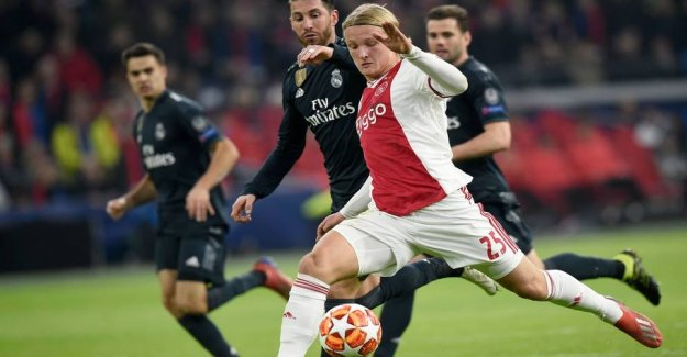 Dolberg again on the board in the brutal butchery