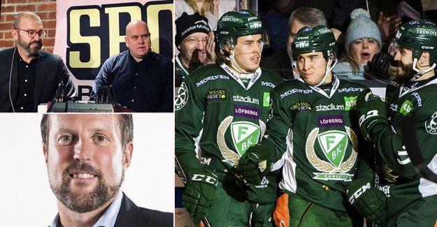 Don't miss: Hockeystudion visit Färjestad