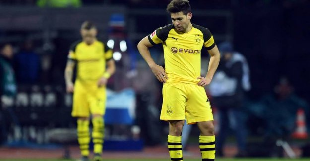 Dortmund dumber with the third tie in a row