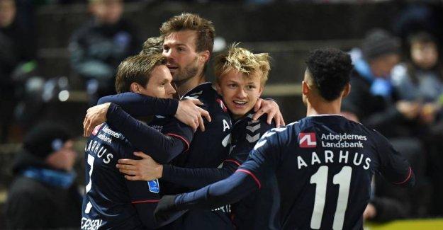 Drømmekasse secured AGF superstart in the spring