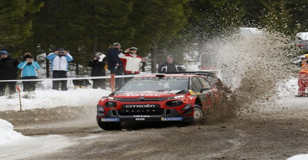 EK12: Esapekka Lappi rose to third place! Citroën engineered a six-time world champion of Finnish handyman for