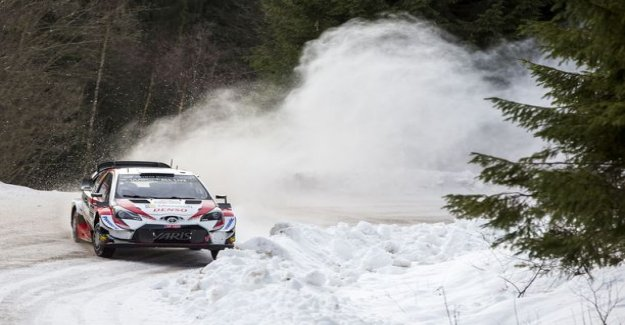 EK5: Finnish double-lead! Latvala annealing Markku Alénin style: there Is still maximum attack