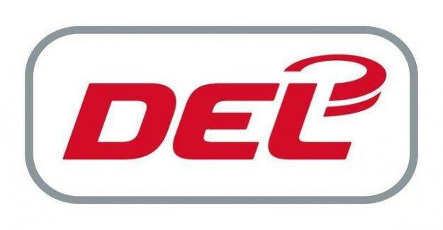 Eisbären Berlin of the football season 2018/19 : New DEL-Logo from next season