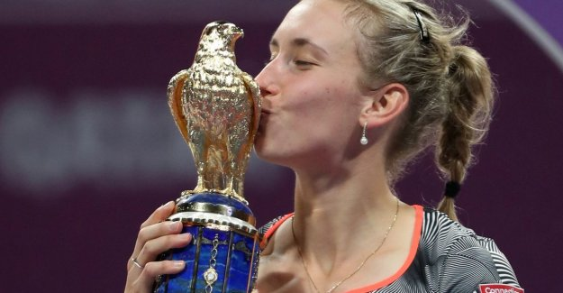 Elise Mertens close a fantastic week with stuntzege against Halep and grabs the biggest WTA title of career